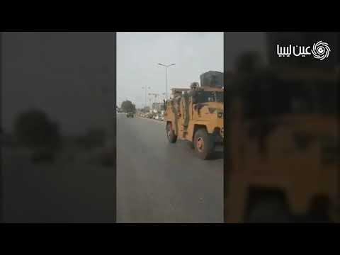 وصول دفعة جديدة من الآليات العسكرية ومركبات قتالية مدرعة إلى ميناء مصراتة وطرابلس