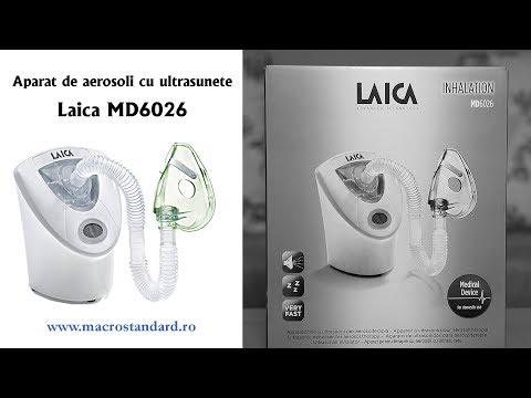Aparat pentru terapie cu aerosoli cu ultrasunete Laica MD6026