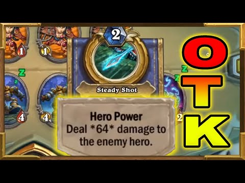 """Hearthstone: 64 Damage Hero Power OTK 