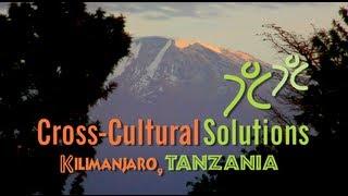 Cross-Cultural Solutions Kilimanjaro Tanzania
