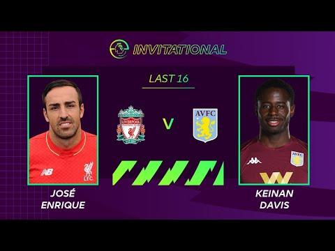 ePremier League Invitational | Liverpool vs Aston Villa | Jose Enrique represents the Reds
