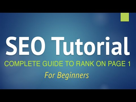 SEO Tutorial for Beginners - Step by Step Guide 2021! (+YOAST SEO)