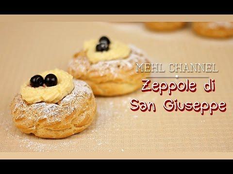 Video Ricetta Zeppole di San Giuseppe al Forno - Festa del Papà - Ricetta base Pasta Choux | Mehl Channel