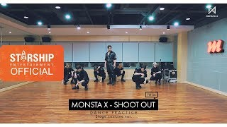 Gambar cover [Dance Practice] 몬스타엑스 (MONSTA X) - 'SHOOT OUT' Stage costume ver. (FIX ver.)