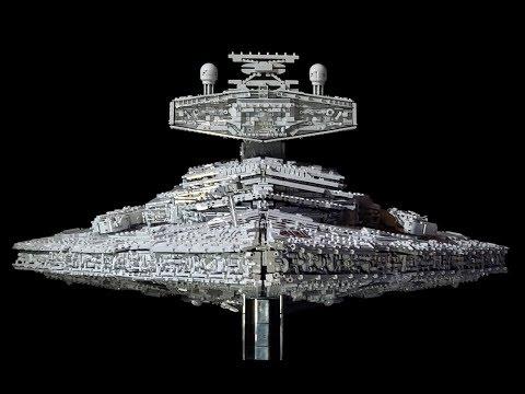LEGO MOC-77525 Imperial Star Destroyer Intimidator Walkthrough