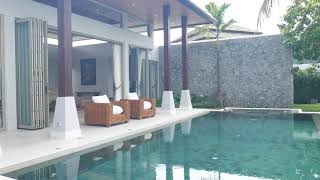 Open, Airy & Relaxing Three Bedroom Balinese Style Pool Villa in Layan, Phuket