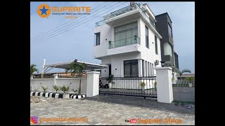 Fully furnished luxury home for sale in Lekki Lagos
