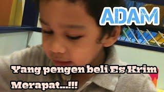 PENJUAL ES KRIM CILIK | PERMAINAN ADAM (Anak Teuku Wisnu & Sheeren Sungkar)
