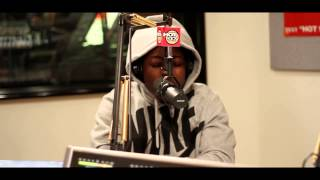 "Ace Hood Freestyle over ""Started From the Bottom"" On Hot97 with FunkMasterFlex"