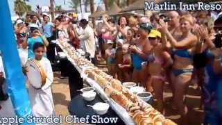 Marlin Inn Resort Apple Strudel Chef Show