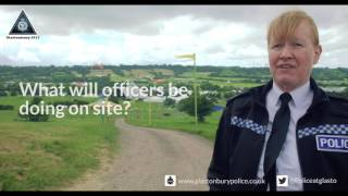Glastonbury Festival 2017 - Policing and Security