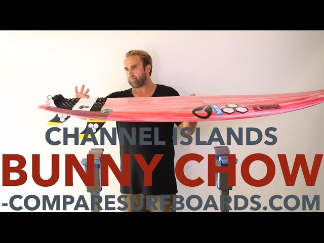 Channel Islands Bunny Chow + Futures AM2 Fins Ride & Surfboard Review no.134 | Compare Surfboards