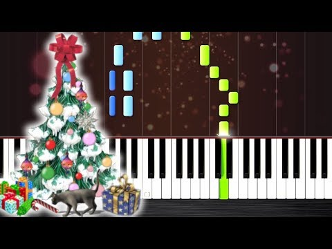 We Wish You A Merry Christmas - Piano Tutorial by PlutaX