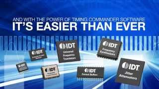 IDT Timing Commander™ Software Overview