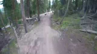 Take a lap down Keystone Bike Park's Milky Way Trail.