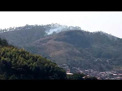 Mais um foco de queimada é registrado nesta sexta-feira em Nova Friburgo; veja vídeo