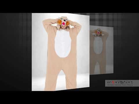 Женская пижама кигуруми Белка для девушек