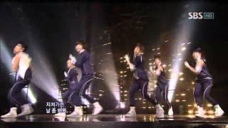 Teen Top - Clap (틴탑 - 박수) @ SBS Inkigayo 인기가요 100725