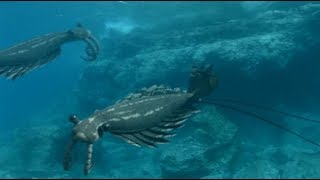 Walking with Monsters - Anomalocaris fight