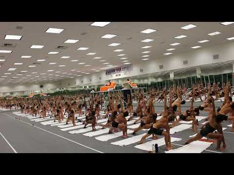 Last class prank at Bikram Yoga Teacher Training - YouTube