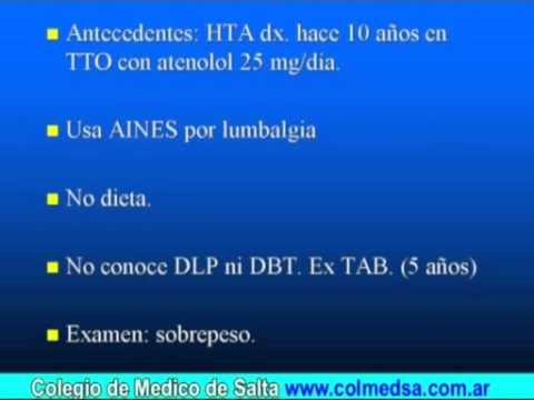 Hipertensión y tratamiento de Amoz
