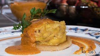 Como hacer manitas de cerdo en salsa de ajillo con Antonio Gázquez Y Marifé en TapasTv