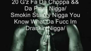 Young Jeezy-Choppa N Da Paint (With Lyrics)