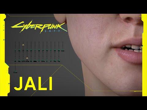 Présentation de JALI de Cyberpunk 2077