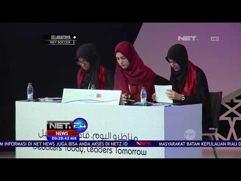 Indonesia Jadi Juara Lomba Debat Internasional di Qatar - NET 24