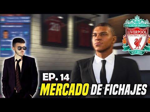 MERCADO DE FICHAJES ¡¡A POR MBAPPÉ!! | FIFA 19 Modo Carrera Liverpool #14