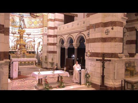 Messe du 4 octobre 2021 à Notre-Dame de la Garde