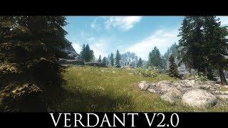 TES V - Skyrim Mods: Verdant - A Skyrim Grass Plugin v2.0a