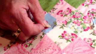 Quilters Knot and How to Tie Off Thread