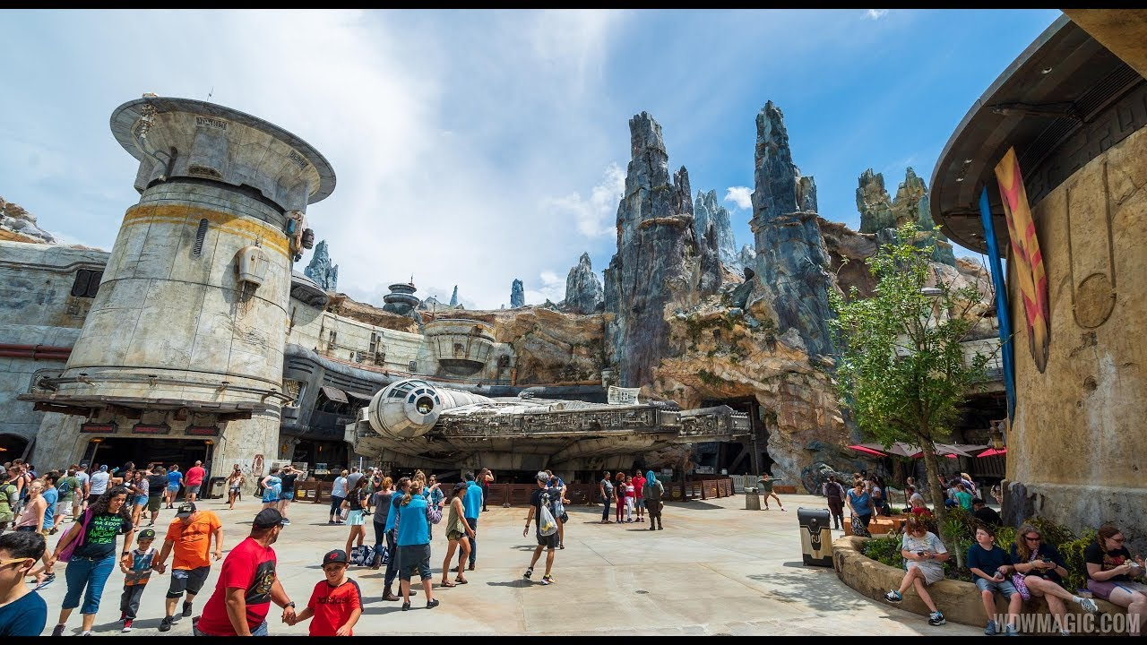 Walkthrough Star Wars Galaxy's Edge Disney's Hollywood Studios
