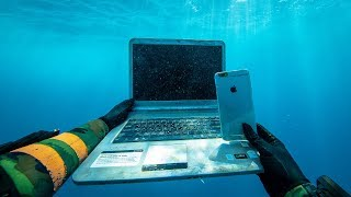 I Found an iPhone, Laptop and Secret Briefcase Under $1,000,000 Boats in Hawaii! (Scuba Diving)