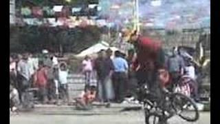 preview picture of video 'tunkas yucatan exhibbicion flat land  el isa y hueso'