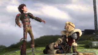 How To Train Your Dragon 2: Hiccup and Astrid Scene
