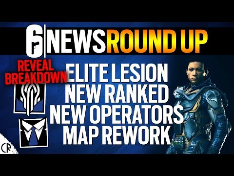 Reveal Breakdown New Ops, Ranked, Map - Nokk Warden - 6News - Tom Clancy's Rainbow Six Siege