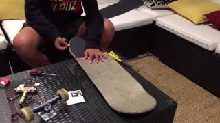 Globe skateboard setup