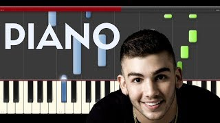 Manuel Turizo Déjalo Nacho Piano Midi Tutorial Sheet App Cover Karaoke