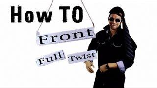 Trampoline Tutorials - How to Front Full Twist