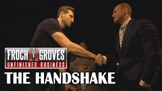 Froch V Groves II - The Handshake