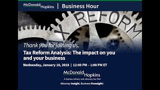 Tax Reform Analysis: The impact on you and your business