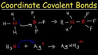 What is a Coordinate Covalent Bond?