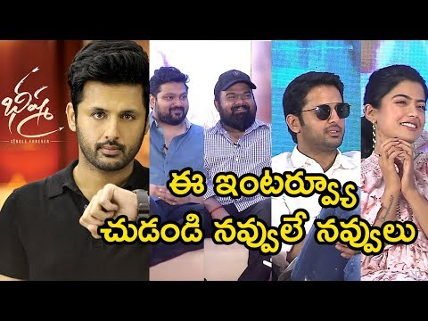 Bheeshma Movie Team Funny Interview