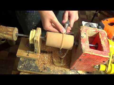 mango para mini gubia entre puntas 1er parte (cilindrado)