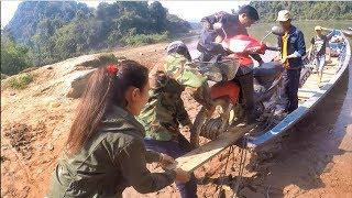 ตะลุยลาวเหนือ EP42:ล่องแม่น้ำโขง จากเชียงแขงไปท่าเรือสบหลวยฝั่งพม่า(Border of Burma-Laos)