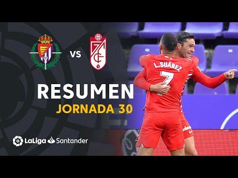 Resumen de Real Valladolid vs Granada CF (1-2)