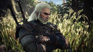 The Witcher 3 x Monster Hunter Collab Event Gameplay Cutscenes (English) #01