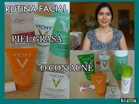 Rutina facial piel grasa o con acné - Normaderm Vichy  ✾ Isabel Quintero